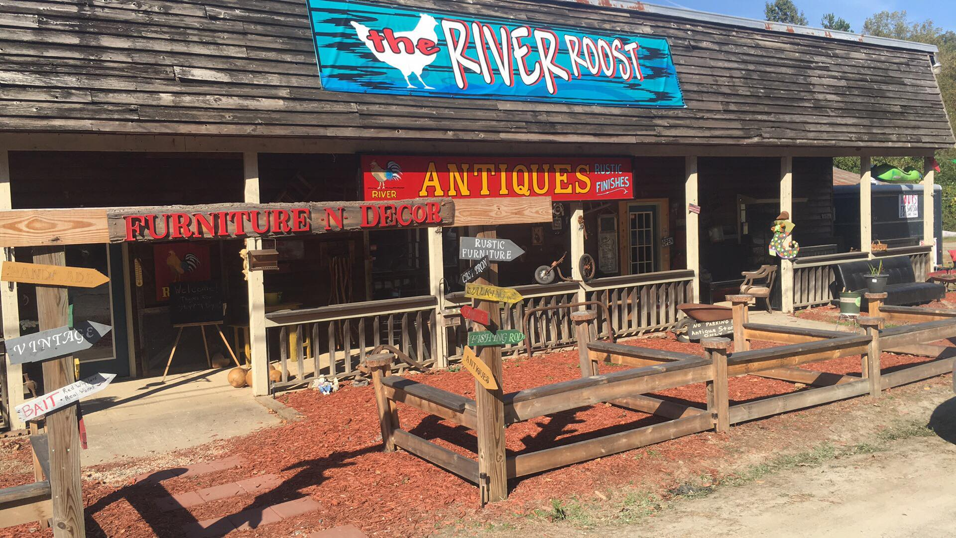 The-River-Roost Top Places to Find a Hidden Antique Treasure in Ellijay - Gilmer County Chamber of Commerce