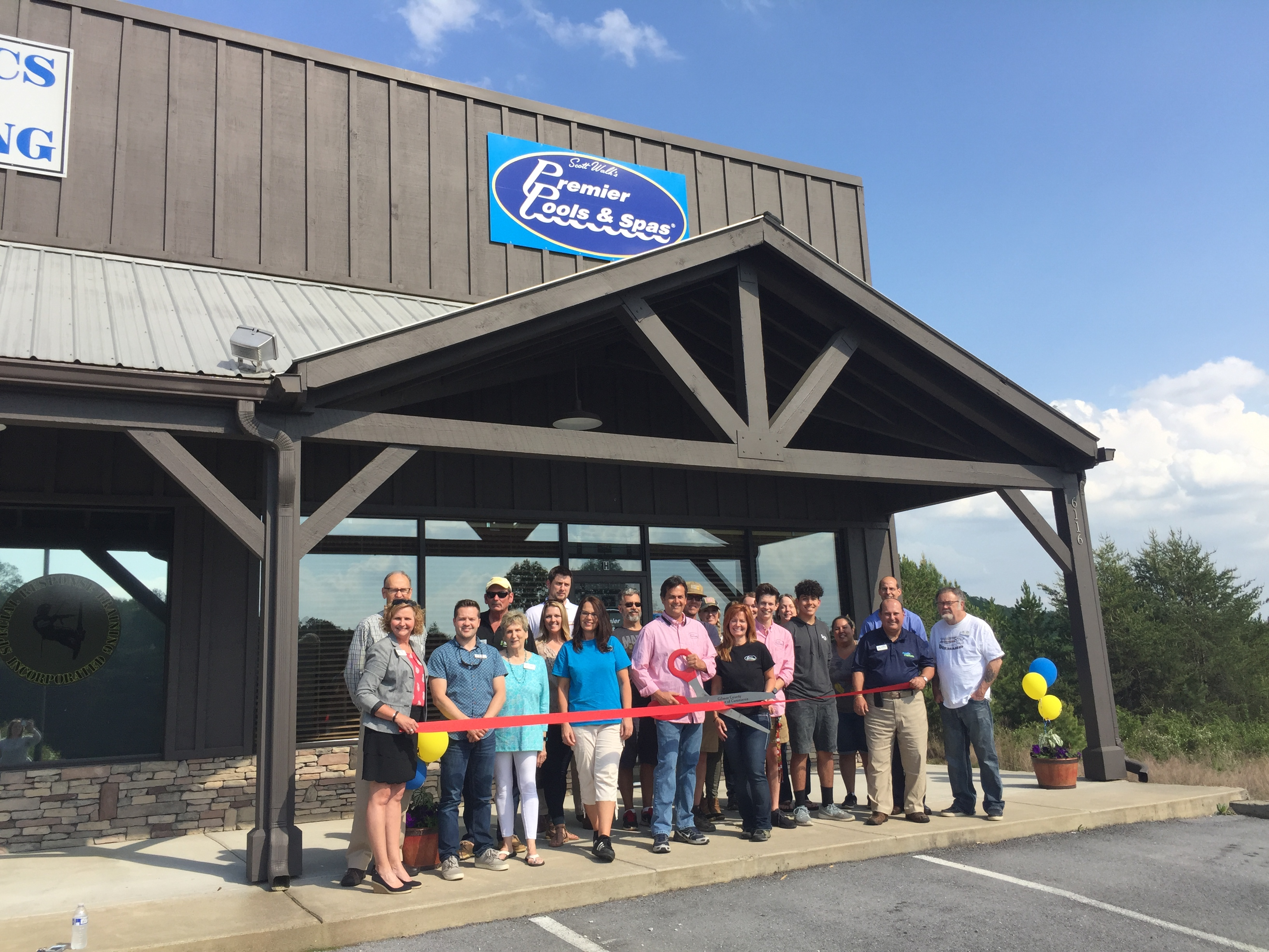 Photo-Apr-20-4-41-59-PM Ribbon Cutting for Premier Pools & Spas - Gilmer County Chamber of Commerce