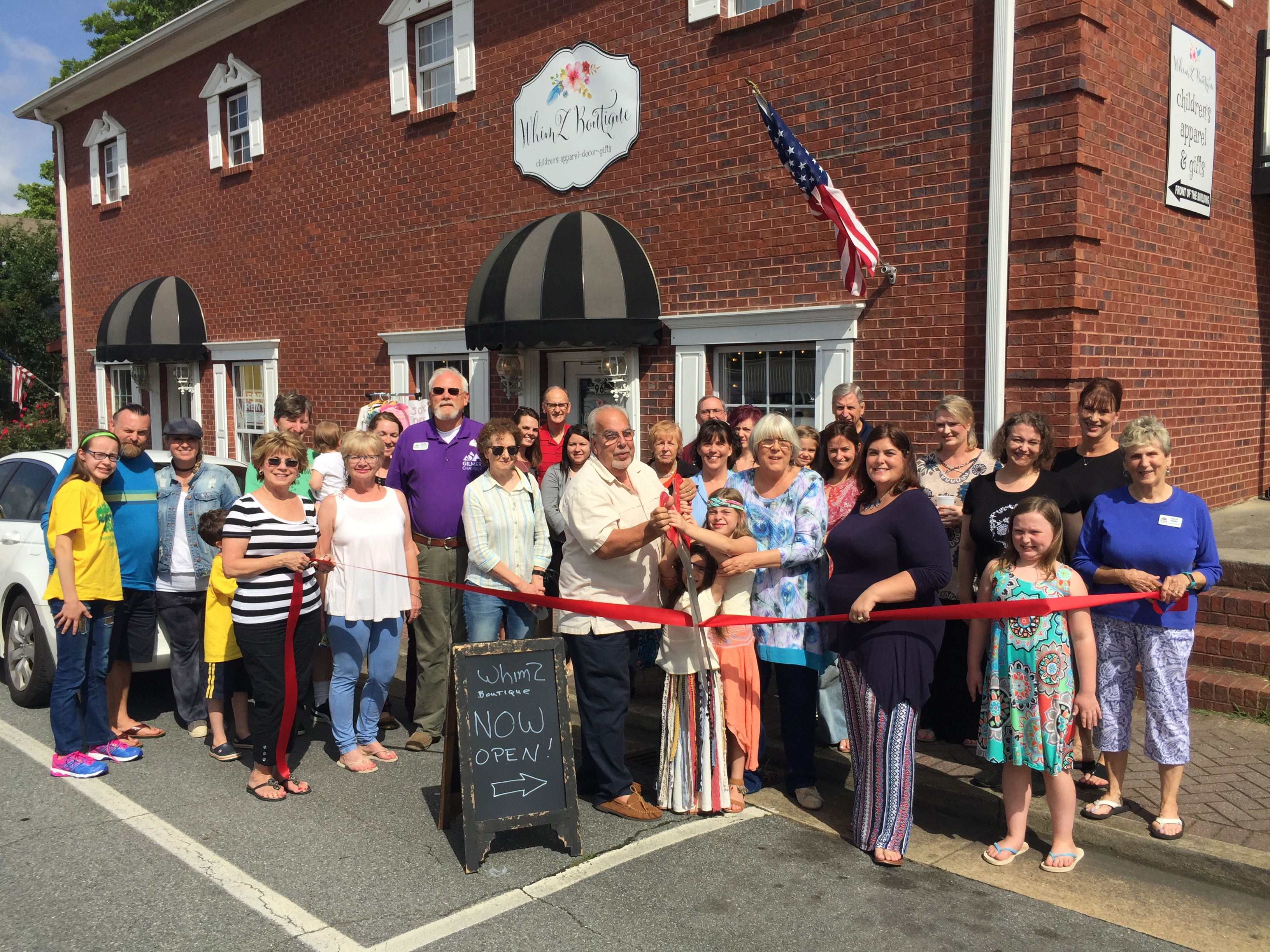 Photo-Jun-23-4-44-16-PM Ribbon Cutting for WhimZ Boutique - Gilmer County Chamber of Commerce