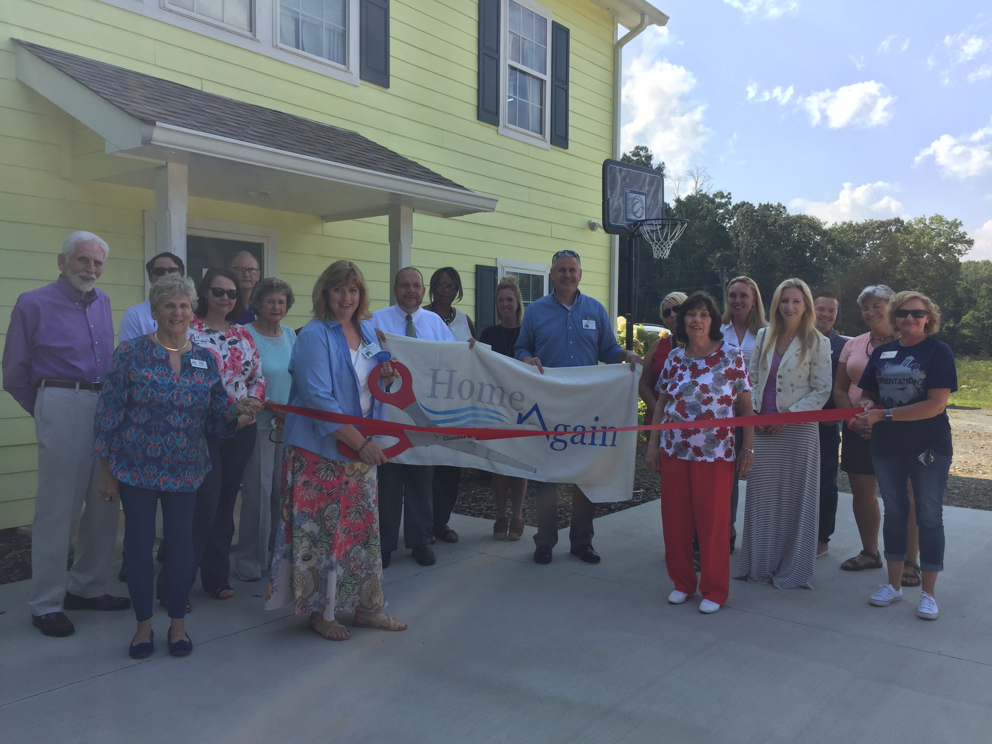 Highland-Rivers-Ribbon-Cutting Ribbon Cutting for Highland Rivers Health's Home Again Program - Gilmer County Chamber of Commerce