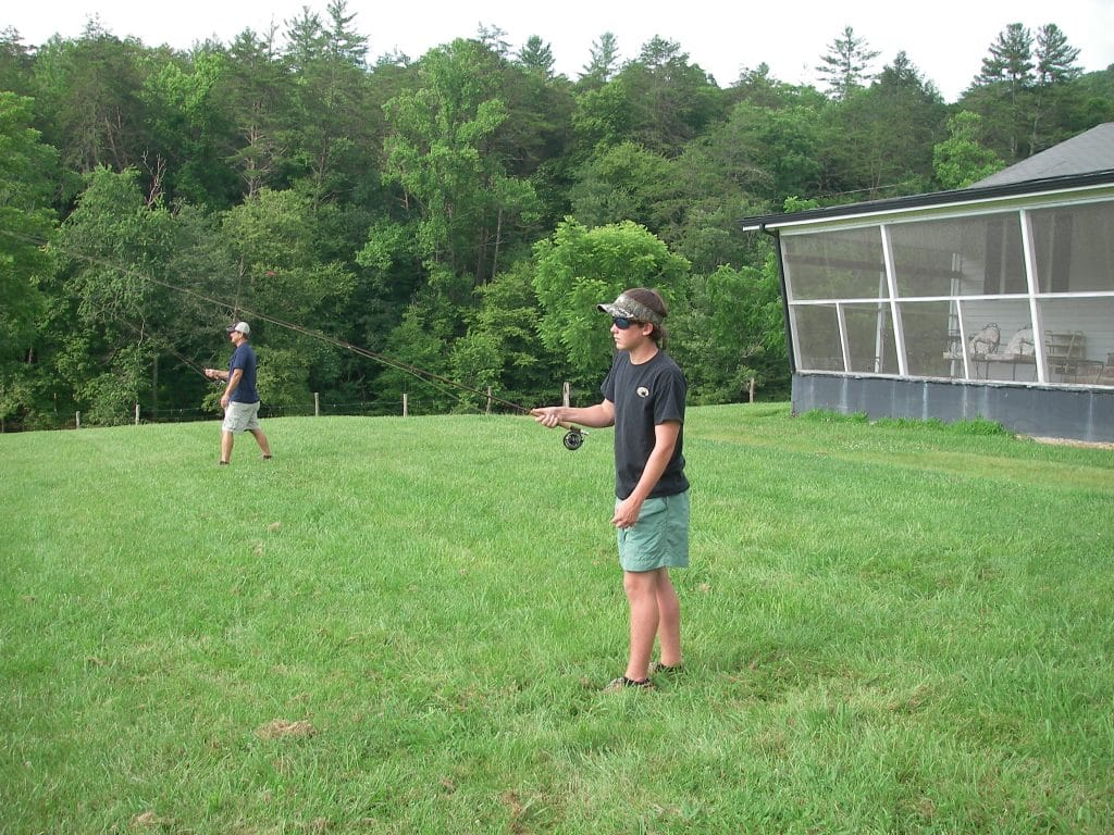 Casting-Lessons-1024x768 Trout Fishing in Ellijay - Just Waiting on Spring - Gilmer County Chamber of Commerce
