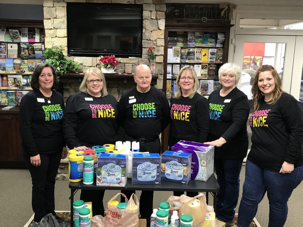 Staff-RAK-1024x768 Gilmer Chamber Celebrates 2018 Random Acts of Kindness Week - Gilmer County Chamber of Commerce