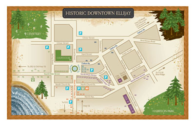 Downtown Ellijay Map - Page 1