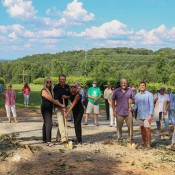 Engelheim Vineyards Team Breaks Ground on New Event Center