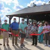 Pleasant Grove Cuts Ribbon on New Pavilion