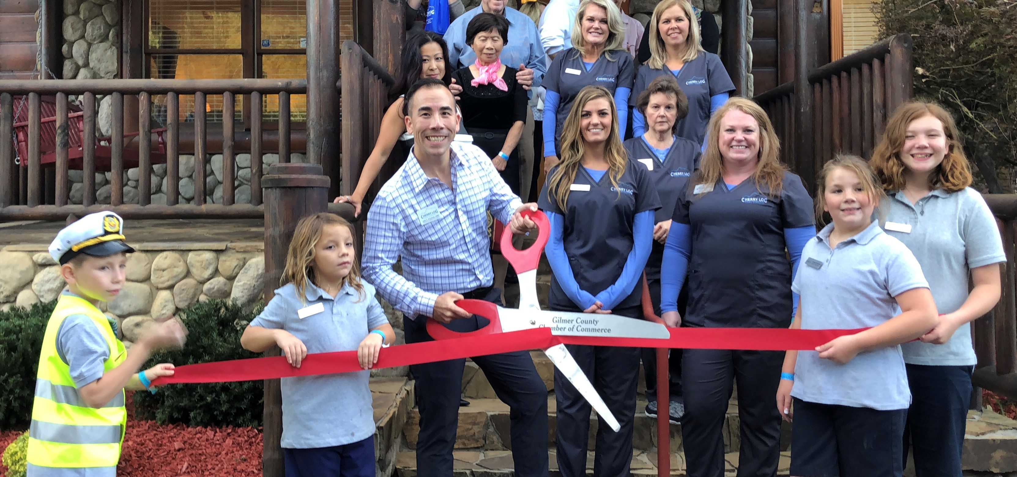 Ribbon Cutting for Cherry Log Oral Surgery