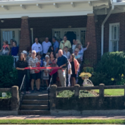 Ellijay River House Bed and Breakfast Ribbon Cutting