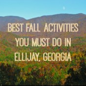 Best Fall Activities You Must Do in Ellijay