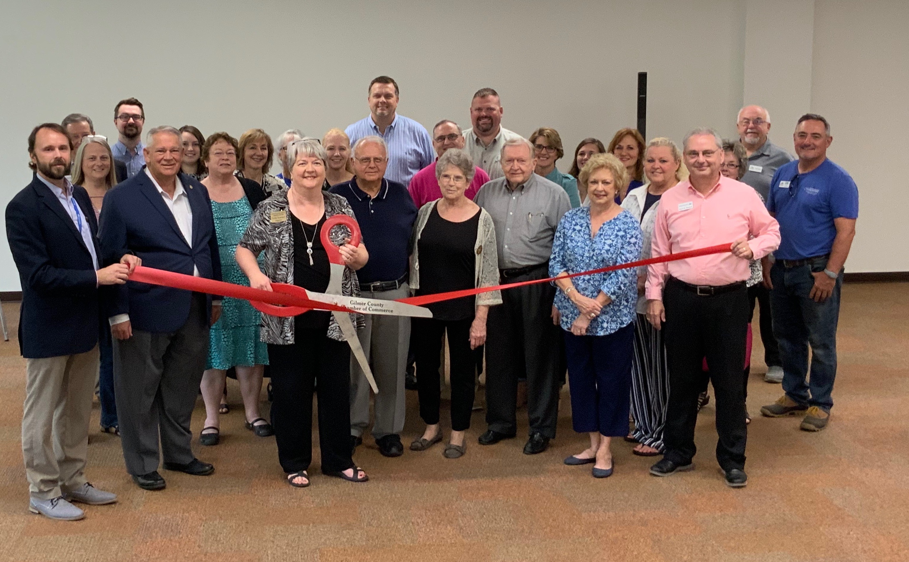 Gilmer County Library Ribbon Cutting