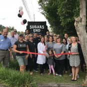 Ribbon Cutting for Sugars End Dental