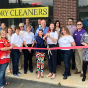 R&P Cleaners Ribbon Cutting