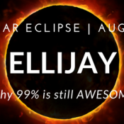Solar Eclipse in Ellijay - Why 99% is still awesome!