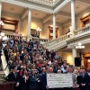 Gilmer Chamber Staff Attends Tourism, Hospitality & Arts Day at the Capitol